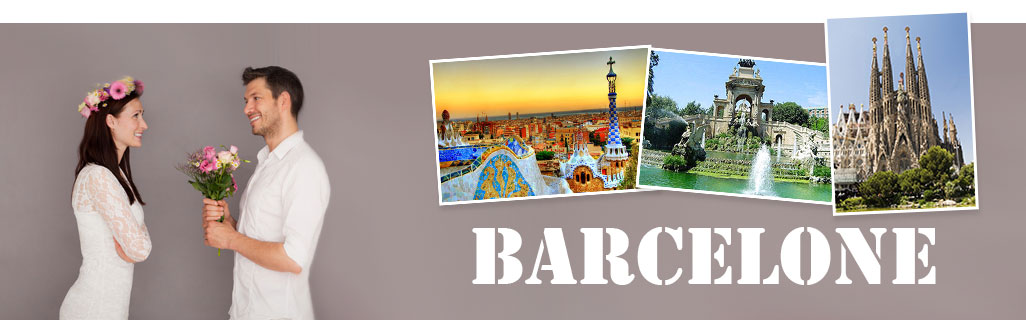 Demande en mariage à Barcelone