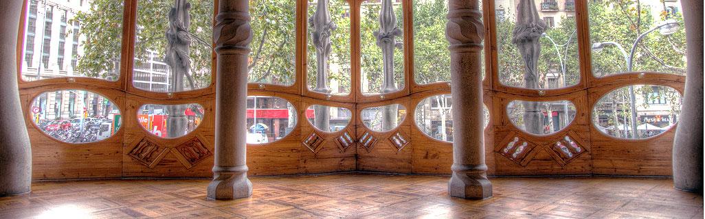 Les 4 maisons de Gaudi à Barcelone