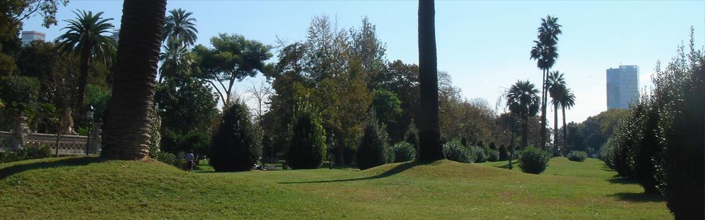 Parc à Barcelone