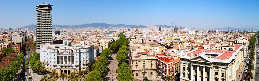 Vues sur Barcelone